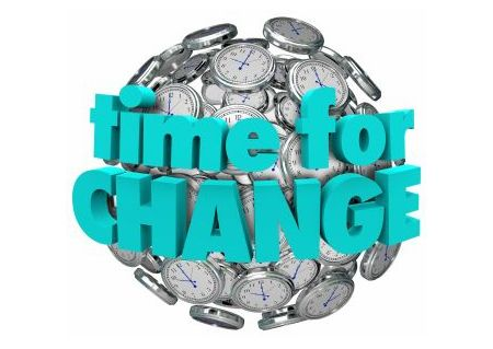 time for change link