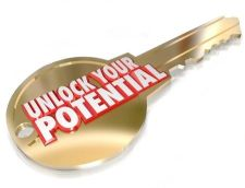 key to unlock your potential