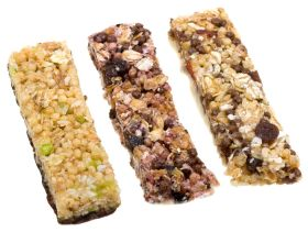 three muesli bars